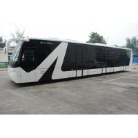 China Apron Passenger Low Floor Buses Airport Bus With Aluminum Body wholesale
