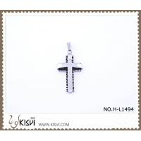 China Hot sell 316 Stainless Steel Cross Pendant H-HP01494 wholesale