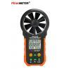 China Backlight Digital Display Digital Wind Meter , Wind Measuring Device USB Port wholesale