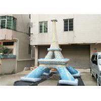 China Commercial Mini Inflatable Eiffel Tower Customized Lead Free Inflatable Replica wholesale