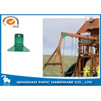 Swing Accessory Steel Reinforced Trapezoidal Plate / Metal Post Connectors