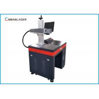 China 30W 1064nm Portable Fiber Laser Marking Machine Aluminum Work Table Long Lifetime wholesale