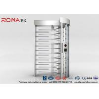 China High Security Full High Turnstile Access Control With Biometric Reader With CE Approved wholesale