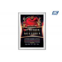 Buy cheap Silver Four Side Snap Open Frame 15mm Thickness Poster Display Holder from wholesalers