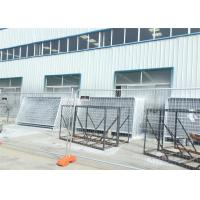 China Hot Dipped Galvanized  Portable Dog Kennels Temporary Construction Fence Panels wholesale
