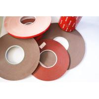 China Double Sided Foam Tape Gray carrier material color 120 degree temperature resistant wholesale