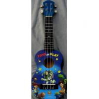 China Professional Cute 21 Inch Disney Land Hawaii Guitar Ukulele Nato Neck Guitar AGUL01 wholesale