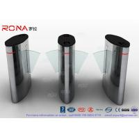 Quality Flap Barrier Gate Automatic Barrier Wing Half Height Turnstiles Stainless Steel for sale