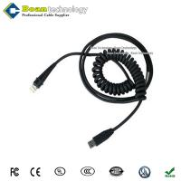 China 42206202-01E for Honeywell Cable 9.2ft black secondary interface coiled Type A Male USB wholesale