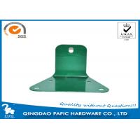 China Swing Accessory Steel Reinforced Trapezoidal Plate / Metal Post Connectors wholesale