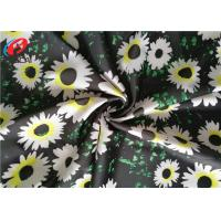 China Printed Swimming 85 Polyester 15 Spandex Fabric , Four Way Stretch Lycra Fabric wholesale