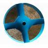 China 3 Inch Concrete Diamond Floor Pads Metal Bond Diamond Grinding Disc For Terrco Machines wholesale
