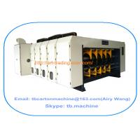 Buy cheap TB600 1800*2500mm 4 color corrugated carton box printing slotting machine product