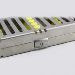Dental Sterilization Cassette Rack Tray Box for 10 Dental Surgical Instruments