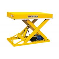 Buy cheap Fixed Stationary Scissor Lift Table 1 Ton Industrial Use Smooth Operation from wholesalers