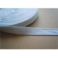 China 20mm White Non Elastic Tape Trim , Sewing Double Fold Bias Tape wholesale