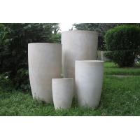 China Factory Hot sales light weight waterproof durable outdoor cast stone planter on sale