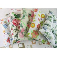 China Polyester Cotton Floor Cushions , Decorative Dining Chair Cushions With Ties wholesale
