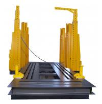 China Car/ truck Garage Automotive Frame Machine , Chassis Straightening Bench 50Ton wholesale