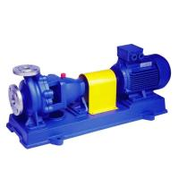 High Pressure Centrifugal End Suction Pump , Water Treatment Industrial Chemical Pumps