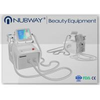 China 2 pcs Cryolipolysis handle+Lipo laser+Auto vacuum RF roller   For body shaping, slimming,w wholesale