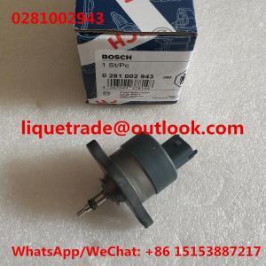 China BOSCH DRV pressure regulator 0281002943 ,valve 0 281 002 943 , 0281 002 943 on sale