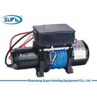 China Labor Saving Electric Winch Hoist 12V Voltage 3 Stage Planetary Gear Train wholesale