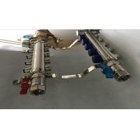 Quality Italy Style Intelligent Temperture Control 2 Port Underfloor Heating Manifold For Pex for sale