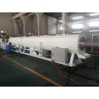 China Plastic Pipe Extrusion Line For PVC Pressure Water Pipe 400Kg/H - 600Kg/H MAX Output on sale