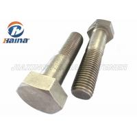 China Stainless Steel Bolts DIN931 SS304  SS316 M6-M64 Hex Head Bolts wholesale
