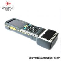 China Waterproof Mobile Thermal Printer Android 4.0 Hand Barcode Scanner , Phone Call Function wholesale