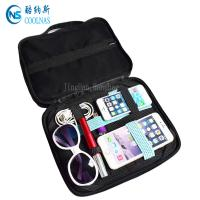 China ODM/OEM Design GRID Gadget Organizer Elastic Travel Cable Organizer Bag on sale