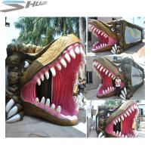 China Amusement Park Dinosaur Pneumatic Surround 7.1 Audio 5D Theater System wholesale