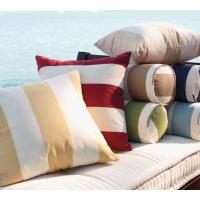 China Counch Decorative Outdoor Seating Cushions Round , 20 Inch Pillow Covers on sale