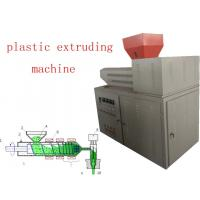 China Pvc Extruder Machine , Frequency Speed Adjust Plastics Extrusion Machinery on sale