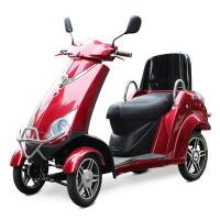 China Old Man 4 Wheel Electric Scooter Customized 500W Four Wheel Electric Scooter wholesale