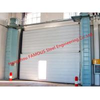China Segmental Overhead Steel Doors Vertical Lifting Counterweight Sectional Industrial Doors wholesale