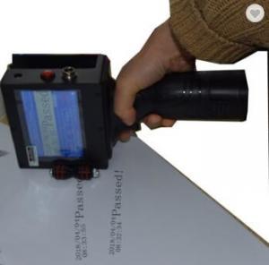 Smart Handheld Inkjet Marking Machine 1.2mm-12.7mm Printing Height For Packing Field