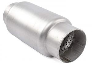 China Automotive 3.5 Inlet Welded Stainless Steel Exhaust Resonator wholesale