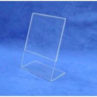 China Price Tag Holder Clear Acrylic POP Display Rack for Cafeteria Customized wholesale
