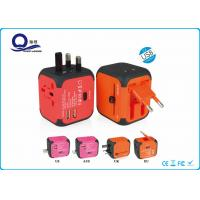 China 5Volt 2.4A Universal Travel Charger , Universal Portable USB Wall Charger wholesale