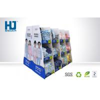 China Strong Bearing Capacity Cardboard Display Stands For T - Shirt / Children Clothes wholesale