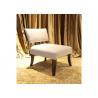 Buy cheap Modern Hotel Lobby / Bedroom / Dining Chair Sofa Solid Wood Veneer from wholesalers