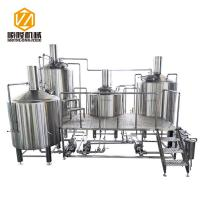 China Industrial Large Beer Brewing Equipment 3 Vessel With Stout Tanks / Kettles wholesale