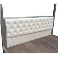 China Contemporary Headboard Upholstered Bedroom Sets NO Folding With Size Custom wholesale