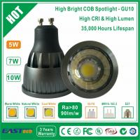 Buy cheap 5W GU10 COB Spotlight (High Bright) - Cool White from wholesalers