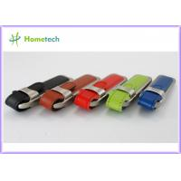 China Best Selling!!! 2014 New Leather USB Flash Disk 2.0 wholesale