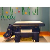 Fiberglass Pediatric Examination Table MJSD03-05 With Gas Spring Adjust Back