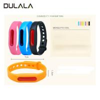 China Eco-friendly insect mosquito insect repelling bracelets/ Citronella Bracelet for outdoor activity wholesale