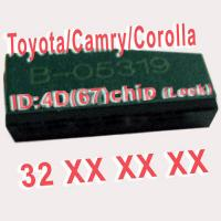 Quality 4D 67 Duplicable Chip 32XXX Car Key Transponder Chip for Toyota / Camry / for sale
